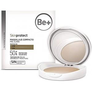 BE+ SKINPROTECT MAQ COMP PIEL CLARA SPF50+ 10 G