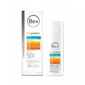 BE+ SKINPROTECT PIEL ACNEICA SPF 50+ 50ML