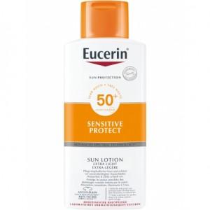 EUCERIN SUN PROTECTION 50+ LOCION EXTRA LIGHT SENSITIVE PROTECT 400 ML