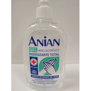 ANIAN GEL HIDROALCOHOLICO DE MANOS 500 ML
