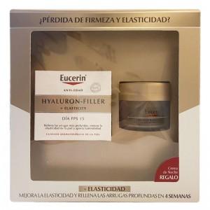 EUCERIN HYALURON FILLER+ELASTICITY FPS 15 CONTORNO DE OJOS 15 ML