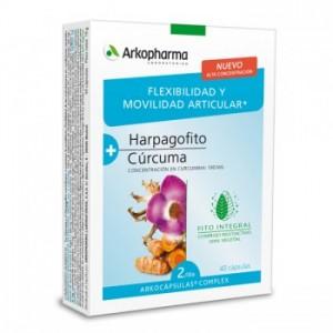 ARKOCAPSULAS COMPLEX HARPAGOFITO-CURCUMA 40 CAPSULAS