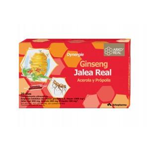 ARKOREAL JALEA REAL + GINSENG 20 AMPOLLAS 15 ML