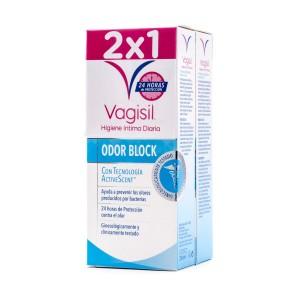 VAGISIL HIGIENE INTIMA ODOR BLOCK PACK 2 X 250 ML