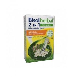 BISOLHERBAL 2 EN 1 MALVAVISCO, TOMILLO Y LLANTEN 12 SOBRES MONODOSIS X 10 ML