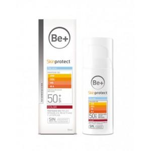 BE+ SKIN PROTECT PIEL SECA SPF50+ COLOR 50 ML
