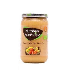 NUTRIBEN ECOPOTITOS VERDURAS DE LA HUERTA CON POLLO DEL CORRAL 235 G