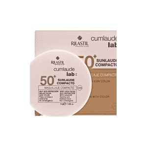 CUMLAUDE LAB: SUNLAUDE COMPACTO SPF 50+ COLOR TONO 02 MEDIUM 10 G