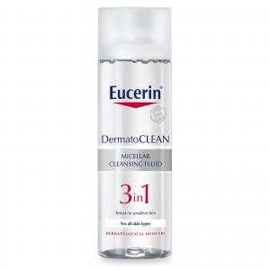 EUCERIN DERMATOCLEAN 3 EN 1 SOLUCION MICELAR 200 ML