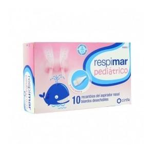 RESPIMAR PEDIATRICO ASPIRADOR NASAL RECAMBIOS 10 RECAMBIOS