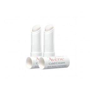 AVENE COLD CREAM STICK LABIAL NUTRITIVO PACK DUO 2 X 4 G
