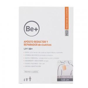 BE+ APOSITO REDUCTOR Y REPARADOR DE CICATRICES 5 U 5 X 8 CM
