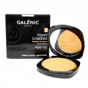 GALENIC TEINT LUMIERE POLVOS DE SOL HALO LIGERO Y NATURAL POLVERA 9,5 G