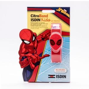 CITROBAND ISDIN KIDS + UV TESTER PULSERA EDICION ESPECIAL SPIDERMAN C/ 2 RECARGA