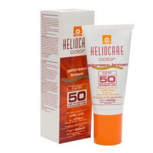 HELIOCARE COLOR GELCREMA SPF 50 PROTECTOR SOLAR 1 ENVASE 50 ML COLOR BROWN