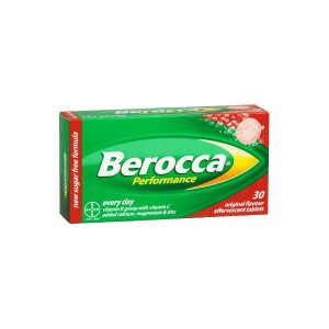BEROCCA PERFORMANCE COMP EFERVESCENTES FRUTOS ROJOS 30 COMP EFERV